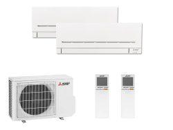 Multi Split Air Conditioner Mitsubishi Electric MSZ-AP25VGK + MSZ-AP35VGK + MXZ-2F53VF