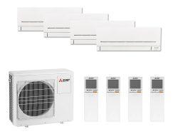 Multi Split Air Conditioner Mitsubishi Electric 3 x MSZ-AP25VG-K + MSZ-AP35VG-K + MXZ-4F80VF2