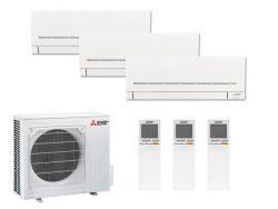 Multi Split Air Conditioner Mitsubishi Electric 2 x MSZ-AP25VG-K + MSZ-AP50VG-K + MXZ-4F83VF